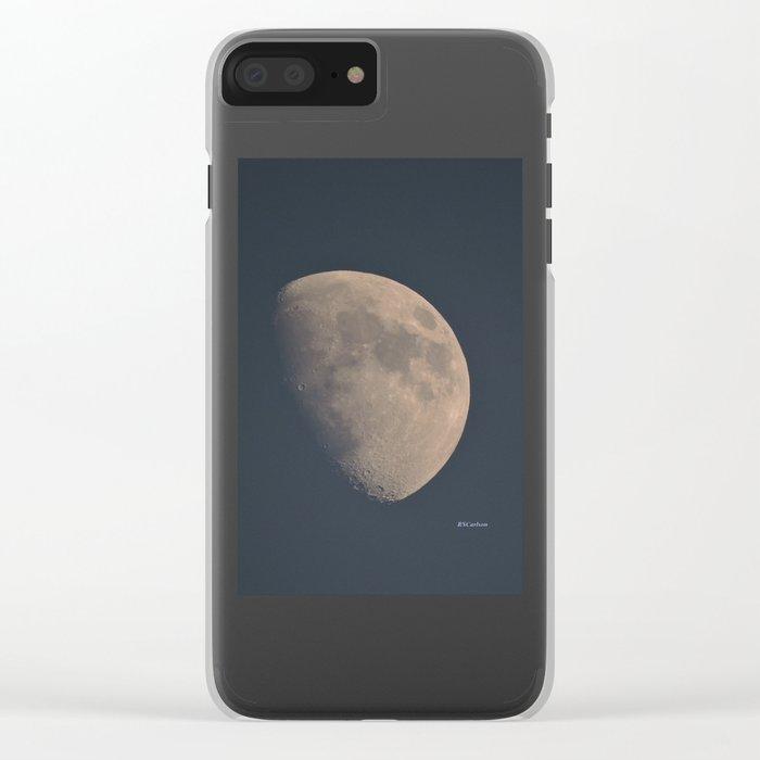 November Half Moon Clear iPhone Case