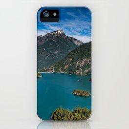 Lake Diablo iPhone Case