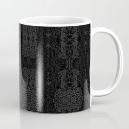 Brain. Vintage etching. Evil dreams. Coffee Mug