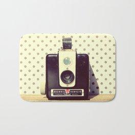 Vintage Camera Love: Kodak Hawkeye Flash! Bath Mat