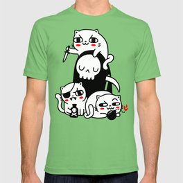Death Is Cat Person T-shirt
