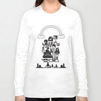monster inc Long Sleeve T-shirts featuring Monster Collection Inc  by Dei Hendrick