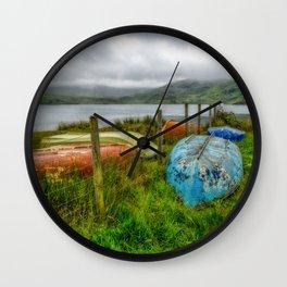 Cwmystradllyn Boats Wall Clock