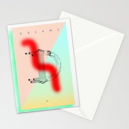 """""""D"""" of DREAMS Stationery Cards"""