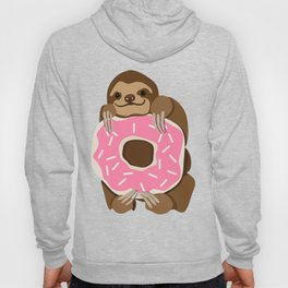 Because Sloths AND Donuts Hoody