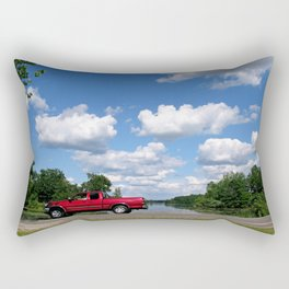 Nice Day for a Drive Rectangular Pillow
