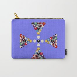 Pool Game Design V2 Carry-All Pouch