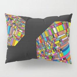 Pixelated Octagons Pillow Sham