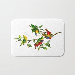 Painted Finch Bird Bath Mat