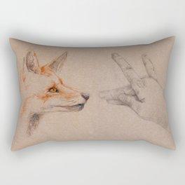 my wolf Rectangular Pillow