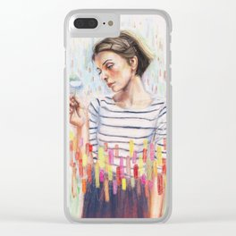 I Know The Law Clear iPhone Case