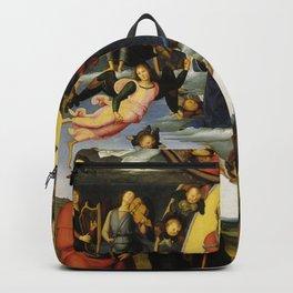 Pietro Perugino - Vallombrosa Altarpiece Backpack