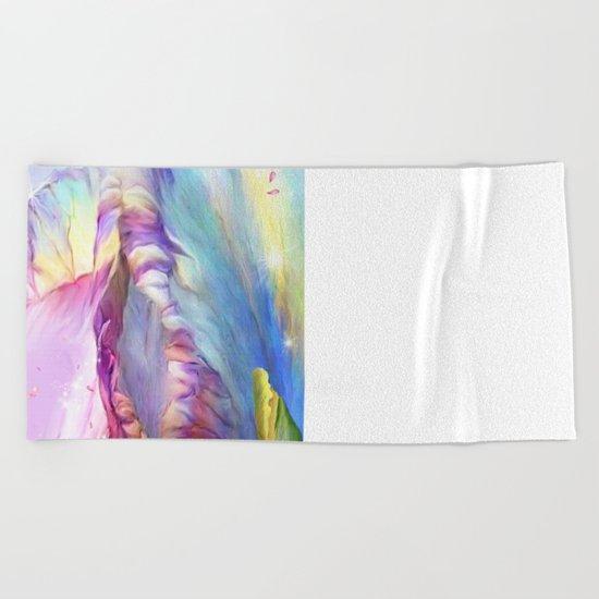Abstract Mystical Beach Towel