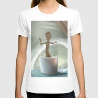 groot T-shirts featuring Baby Groot by Cassandra Moonen