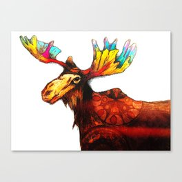moose magic Canvas Print