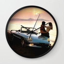 Love&Sunset Wall Clock
