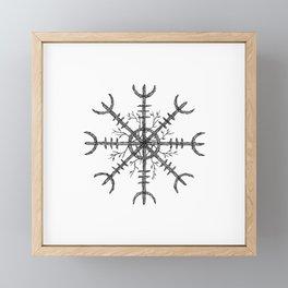Aegishjalmur Framed Mini Art Print
