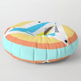 Color Compass Floor Pillow
