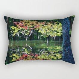 Autumn In The Swamp Rectangular Pillow