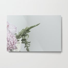 for the love of flowers 5 Metal Print