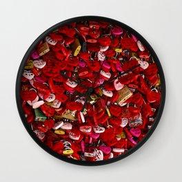 Padlocks of Love Wall Clock