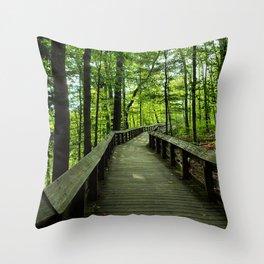 Cuyahoga Valley National Park Throw Pillow