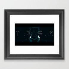 Flynn / Tron Framed Art Print