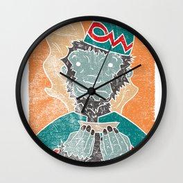 The Flying Chango Wall Clock