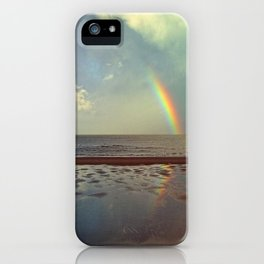 Rainbow Over Sea iPhone Case