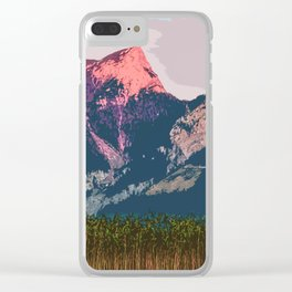 Vast Mountain Clear iPhone Case