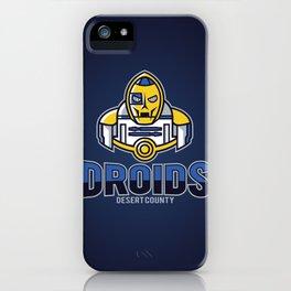 Desert County Droids - Navy iPhone Case