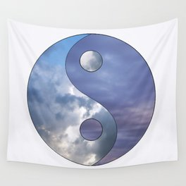 Afternoon Evening Yin Yang Wall Tapestry