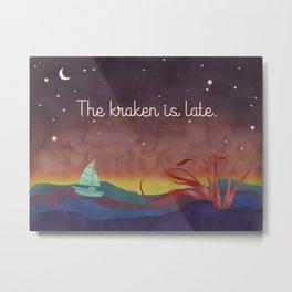 The Kraken Metal Print