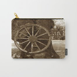Historical Wagon Wheel Carry-All Pouch