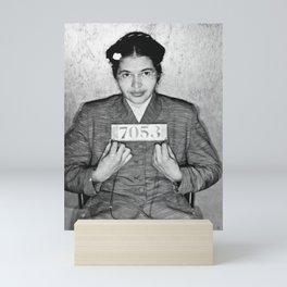 Rosa Parks Mugshot Mini Art Print