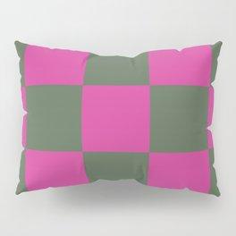 Pretty Chessboard Leana Pillow Sham