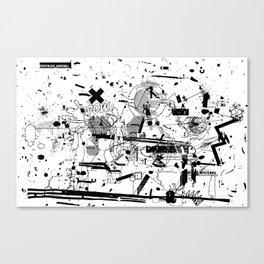 MUMBLE MUMBLE #3 Canvas Print