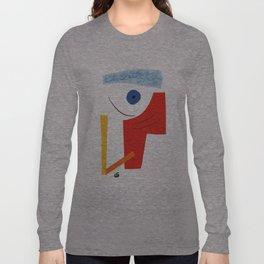 Abstract face. Long Sleeve T-shirt