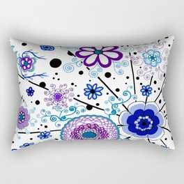 Ka-BLUE-ie! Rectangular Pillow