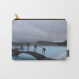 Iced Blue Carry-All Pouch