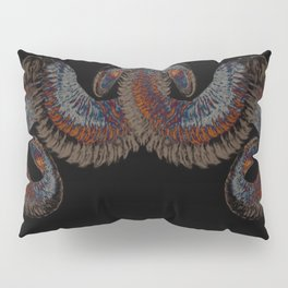 Snake fur collar Pillow Sham