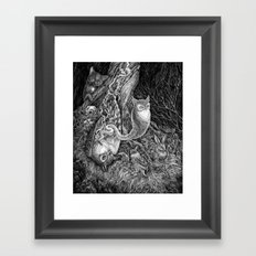 Not the end Framed Art Print