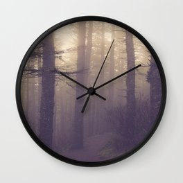 fog lifts Wall Clock