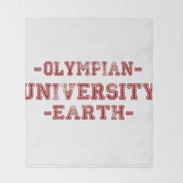 O.U.E Throw Blanket