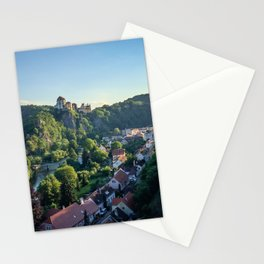 Vranov nad Dyji Town, Czech Republic Stationery Cards