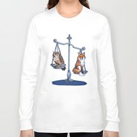 lawyer Long Sleeve T-shirts featuring The Law by Elisa Gandolfo