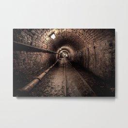 Tar Tunnel 1787 Metal Print