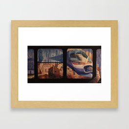 The Insomnia of Nimrod Framed Art Print