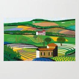 Green Fields Rug
