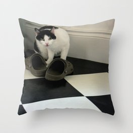 How Low Can YOU Go? Throw Pillow